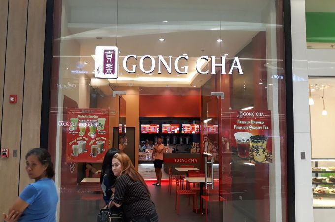 Gong Cha SM Seaside City Cebu Philippines!