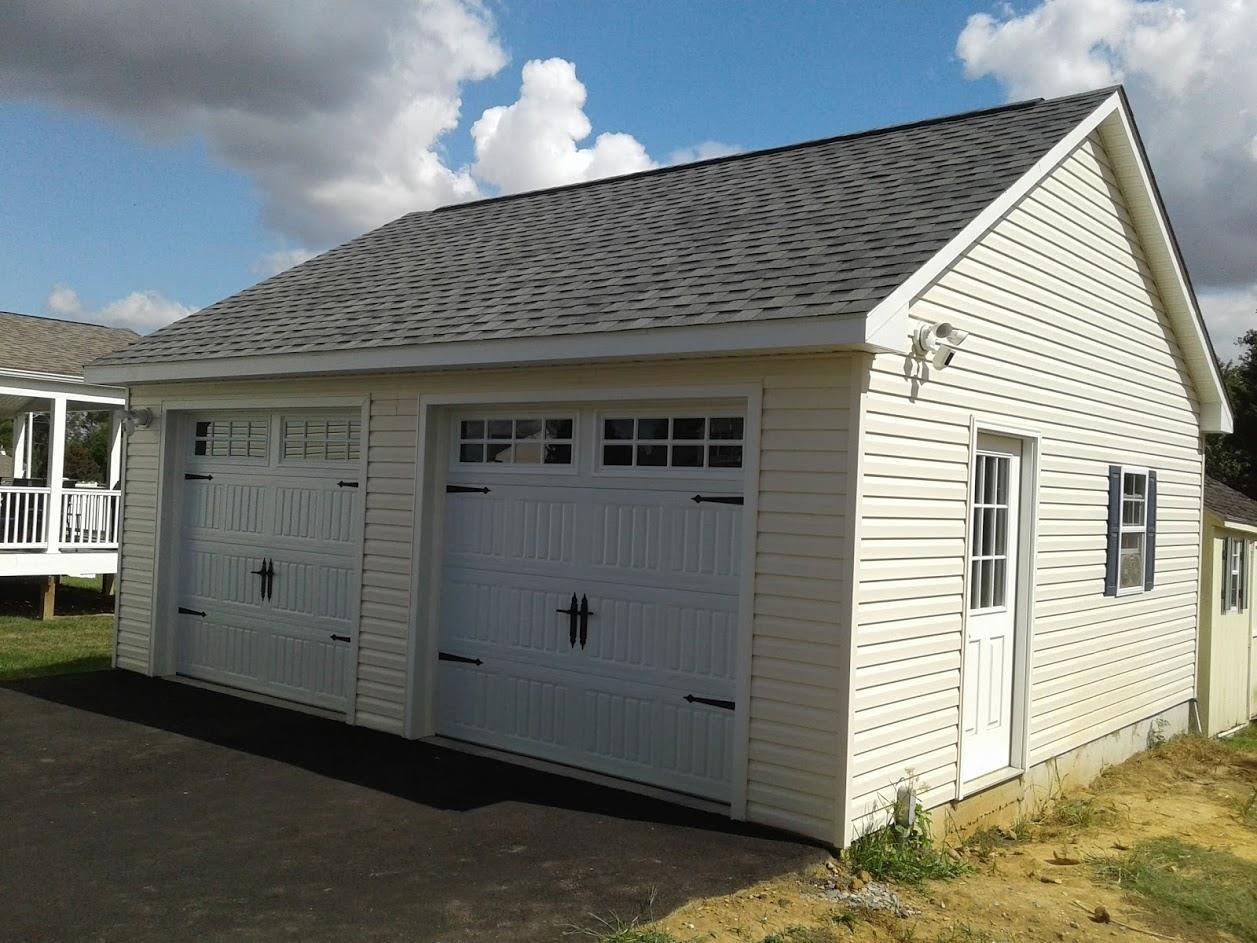 2 Car Garage Space Makers Sheds