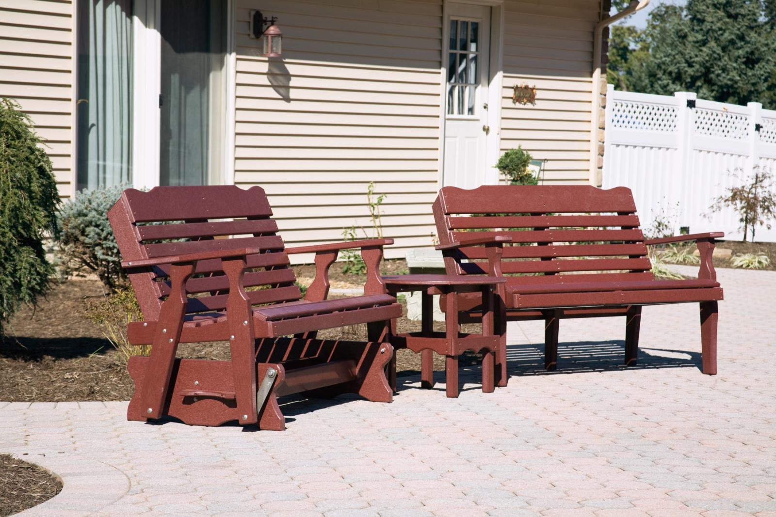 Poly Outdoor Furniture For Sale Space Makers Sheds