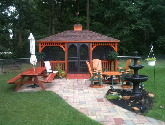 Rectangle Gazebos Space Makers Sheds