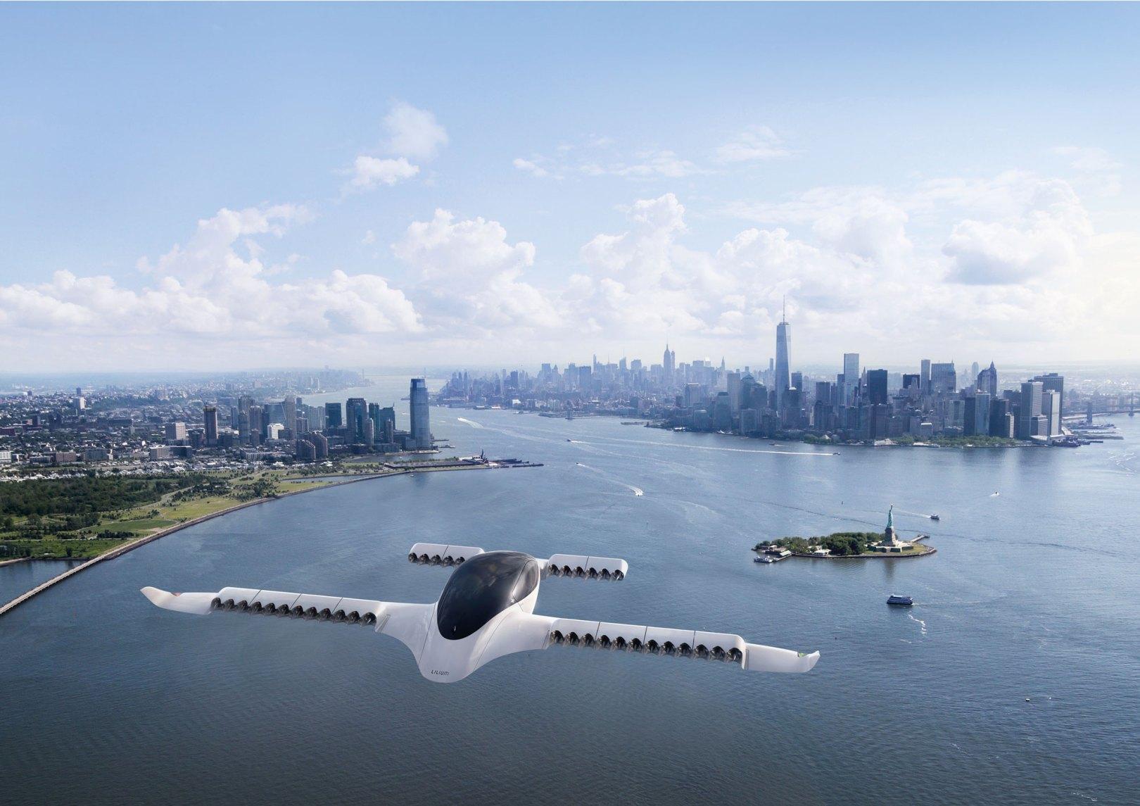 lilium jet auto volante prototype