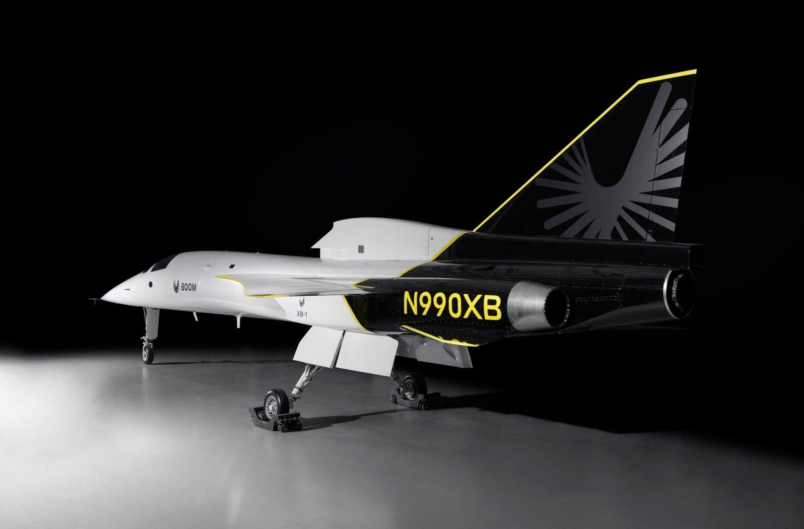XB1 Boom avion supersonique
