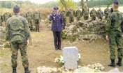 Die Soldaten haben in Litauen die Umbettung Gefallener unterstützt.