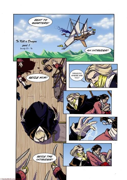 To Kill A Dragon, Part 1, pg.01