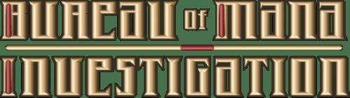 Bureau of Mana Investigation Logo