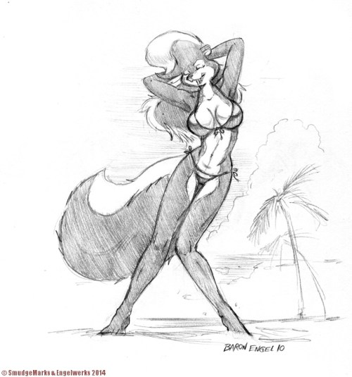Rosemary On The Beach Sketch