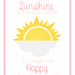 You Are My Sunshine | Evie Print