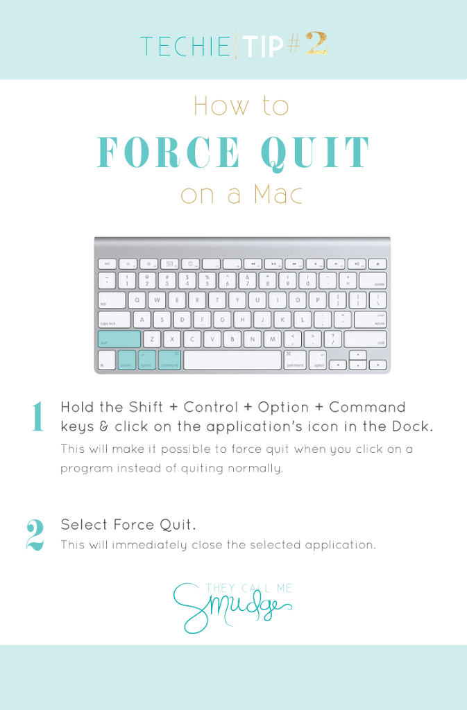 Tech Tip Tuesday 2 How To Force Quit On A Mac Ali Brugman Blog