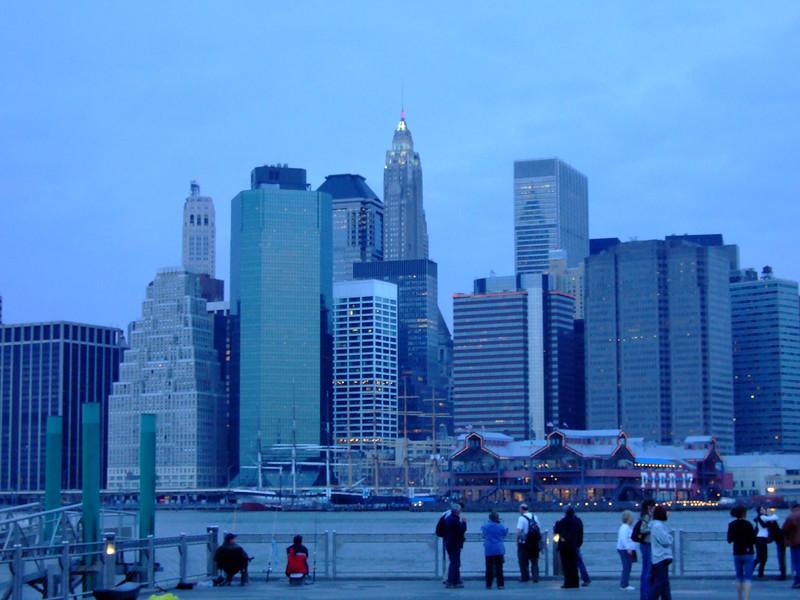 Brooklyn view of Manhatten