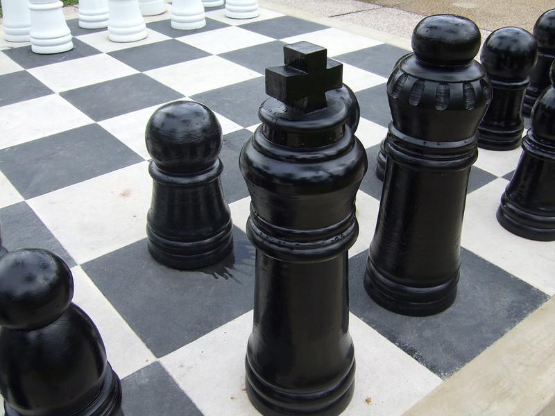 Club Med Bintan Giant Chess Set