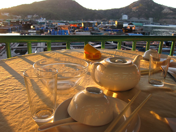 Eat by the Waterfront at Lamma Island
