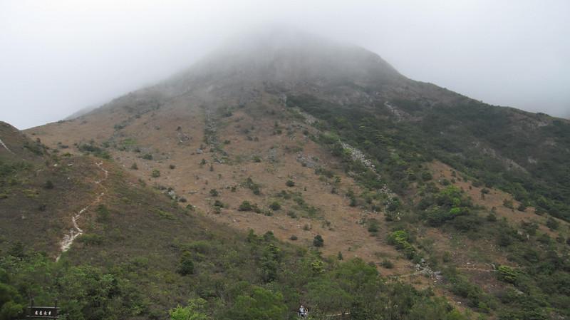 Mountain from Wisdom Path