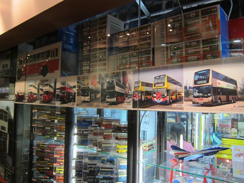 80M Bus Model Shop in Langham Place (TVB Location)