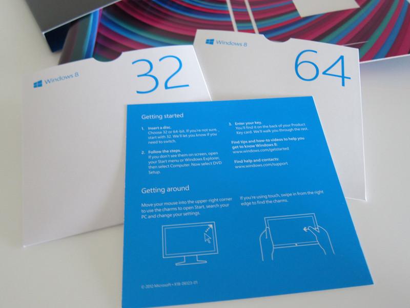 Windows 8 Pro Retail Box