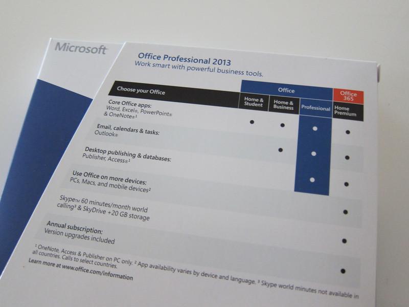 Microsoft Office Professional 2013 Retail Box class=