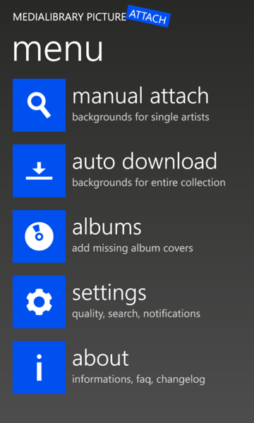 Adding Artist Background to Windows 8 Phone with MPATool