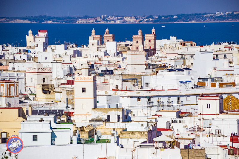 A View of Cadiz from the Cathedral Tower (©simon@myeclecticimages.com)