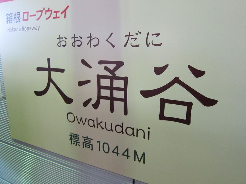 Black Eggs at Owakudani Hakone Japan