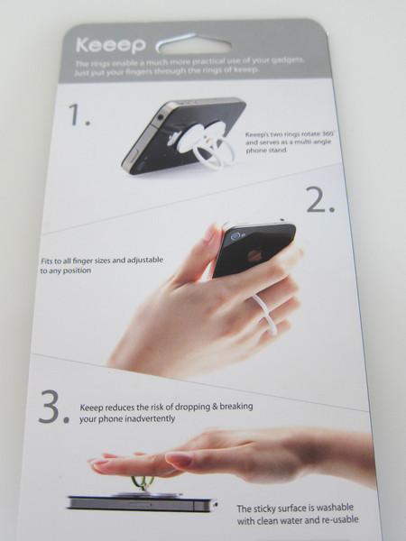 Keeep Smart Finger Phone Stand