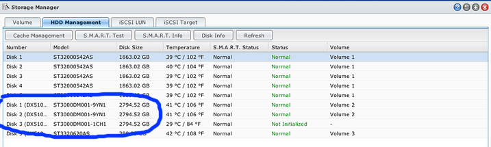 Expanding Disk Volume in Synology