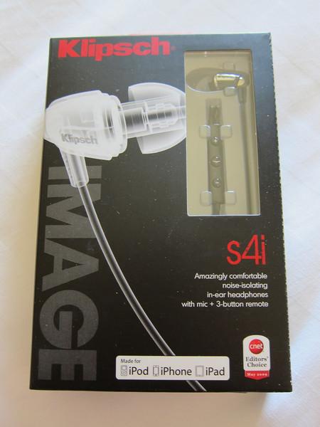 Klipsch Image S4i earphones Unboxing