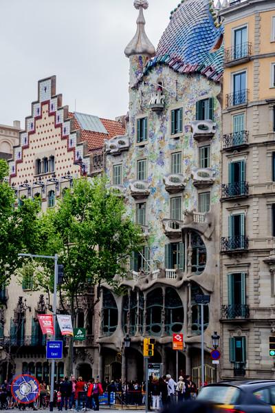 Casa Amatller located on Passeig de Gràcia, Barcelona (©simon@myeclecticimages.com)