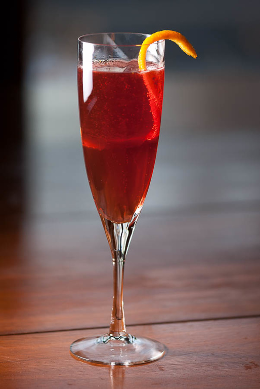 The Seelbach Cocktail, photo © 2011 Douglas M. Ford. All rights reserved.