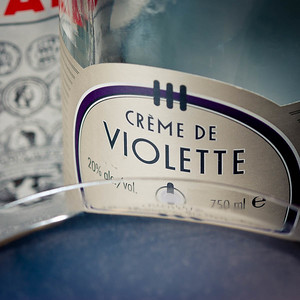 Aviation Cocktail, Creme de Violette (detail), photo copyright © 2012 Douglas M. Ford. All rights reserved.