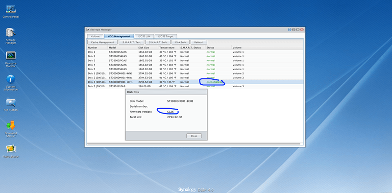 Expanding Hard Disk Space in Synology