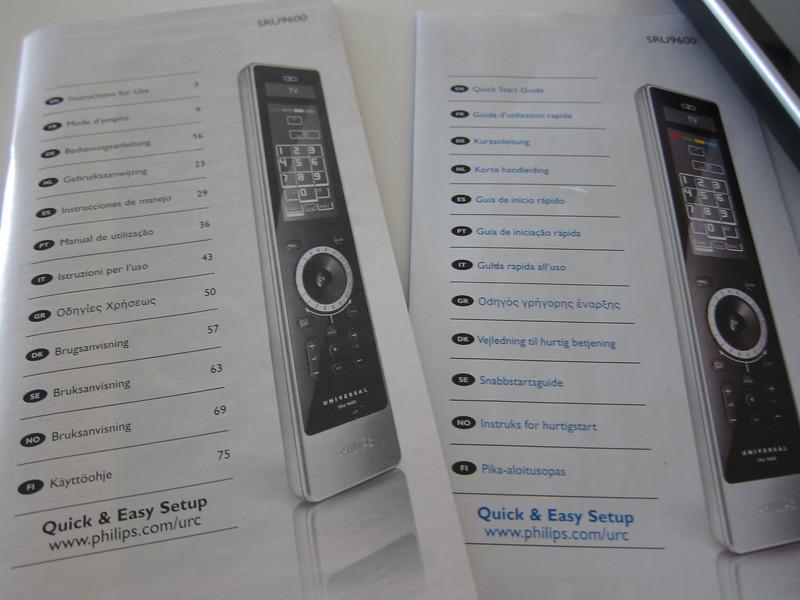 Philips Prestigo Universal remote control SRU9600