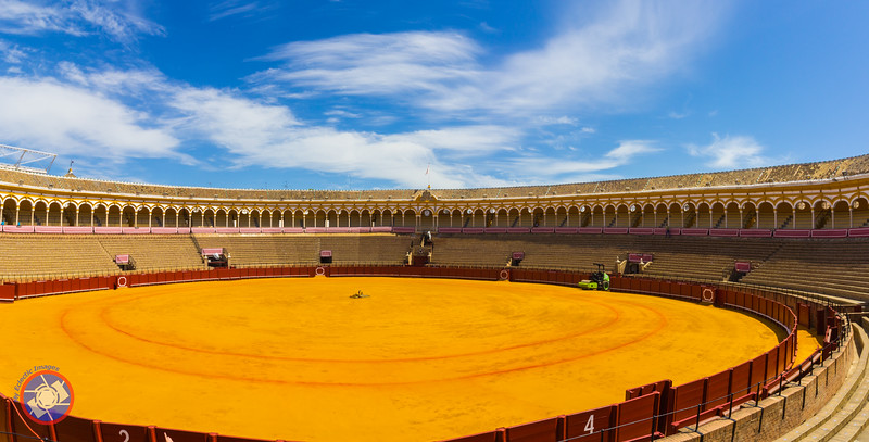 Bull Fighting Arena in Sevilla (©simon@myeclecticimages.com)