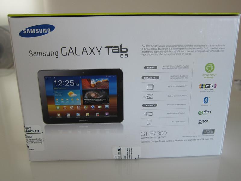 Samsung Galaxy Tab 8.9 inch GT-P7300