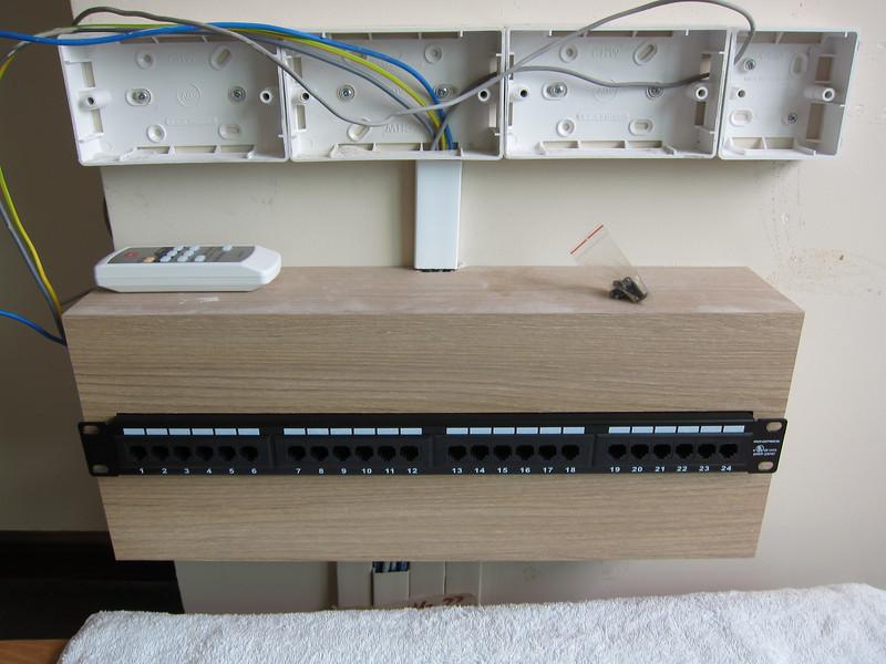 Building the Monoprice Patch Panel Box