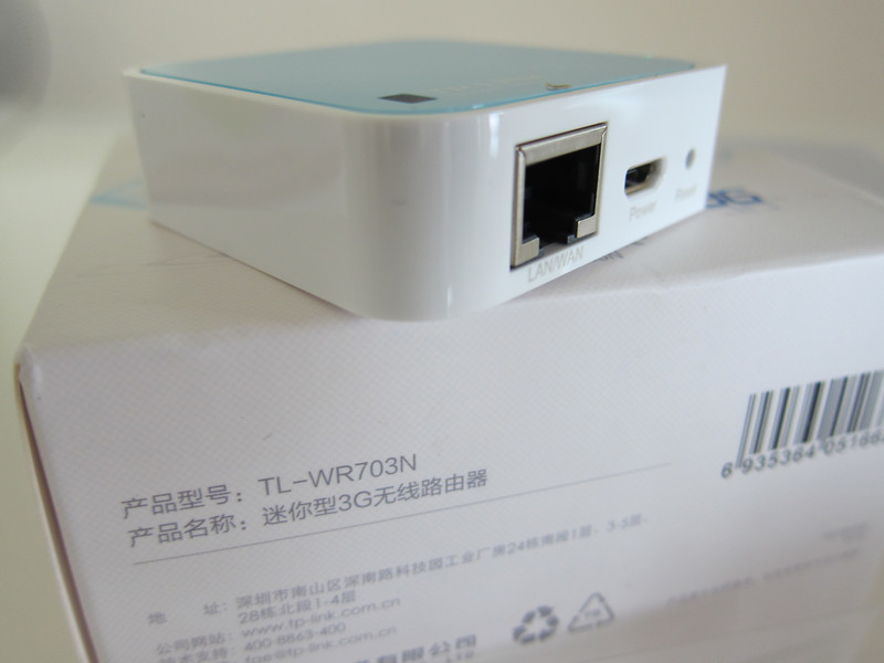 TP-LINK TL-WR703N Mini WiFi Wireless Router