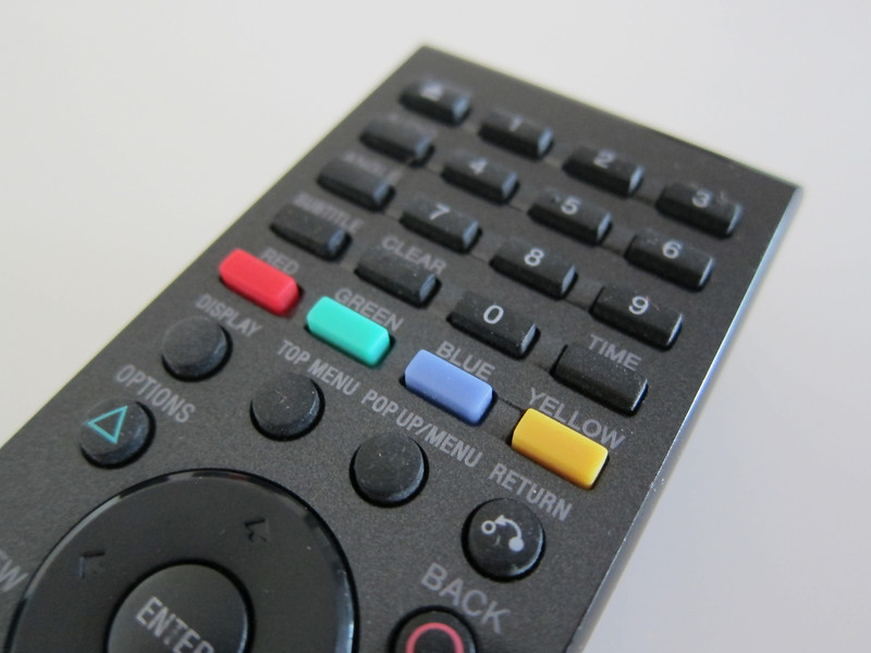 Preowned Sony Blu-Ray Remote Control