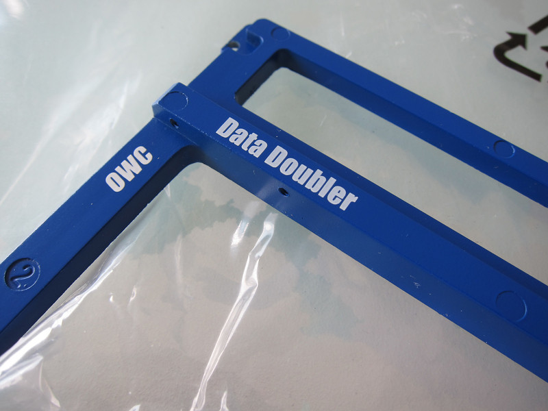 OWC Data Doubler and OWC 60GB SSD