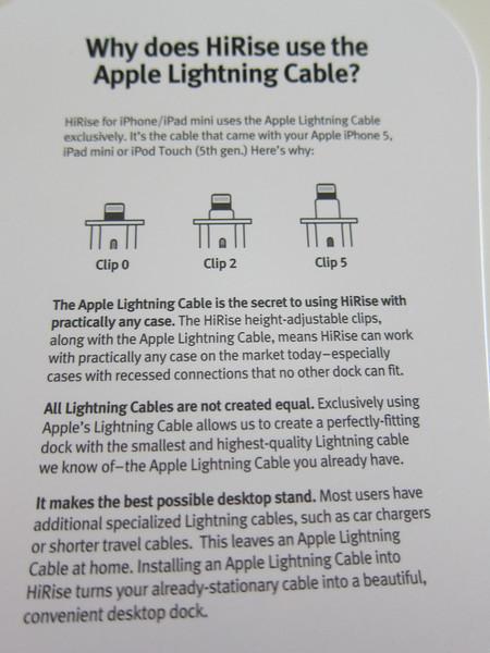 Twelve South HiRise for iPhone 5 and iPad Mini