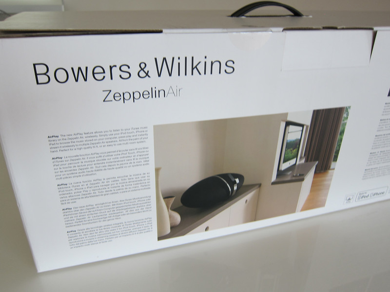 Bowers & Wilkins Zeppelin Air Singapore
