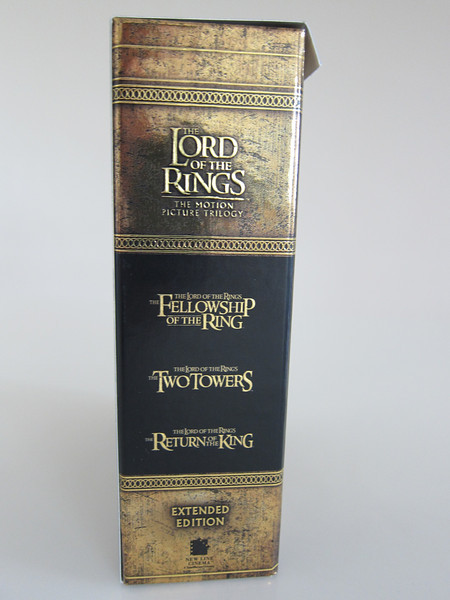 The Lord of the Rings: The Motion Picture Trilogy BluRay Set