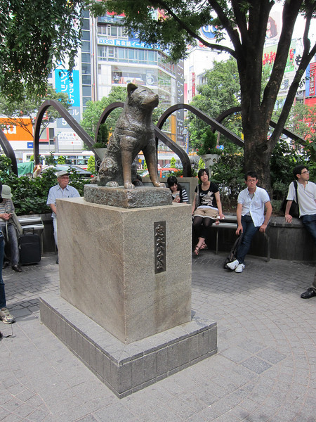 Hachiko Statue at Shibuya Exit