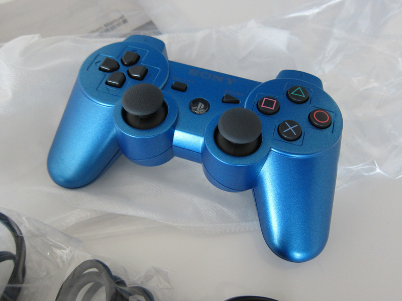 Playstation 3 in Blue