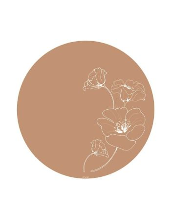 Vloermat - Poppy fallow