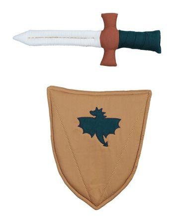 Knuffel - Schild en zwaard