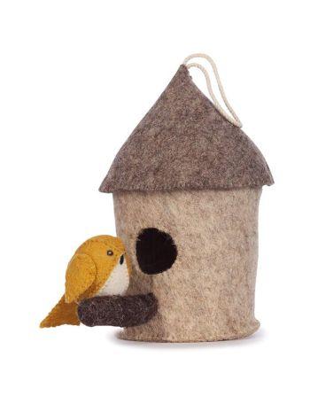 Vilten vogelhuisje – mus