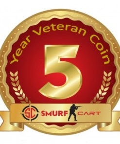 Buy CSGO Private Rank 2 with 5 Year Veteran Coin (Instant Delivery)