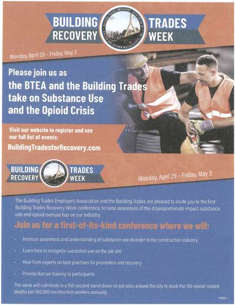 Building Trades Recovery Week