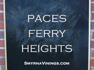 Paces Ferry Heights - Vinings Homes