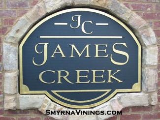 James Creek in Vinings
