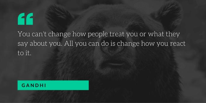 gandhi motivational quote
