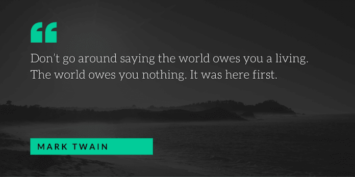 mark twain motivational quote